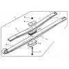 Коренной лист рессоры RENAULT MIDLINER задняя 3-х 80х900х1060х32